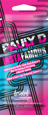 Pauly D InstaFamous™ Matte Finish Black Bronzers Skin Perfecting & Correcting Pkt