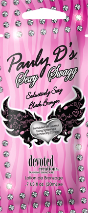 Pauly D's Sexy Swagg™Sexy Black Bronzer with Skin Tightening Pkt