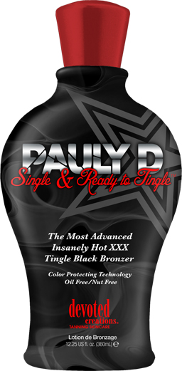 Pauly D's Single & Ready to Tingle™ Insanely Hot XXX Fast Absorbing Bronzer