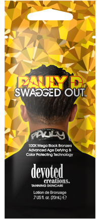 Pauly D's Swagged Out™ 100X Mega Black Bronzers Pkt