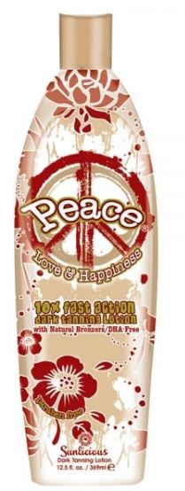 Peace 10X Dark Tanning With Natural Bronzers DHA Free