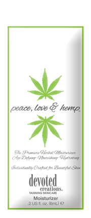 Peace, Love & Hemp Herbal Moisturizer