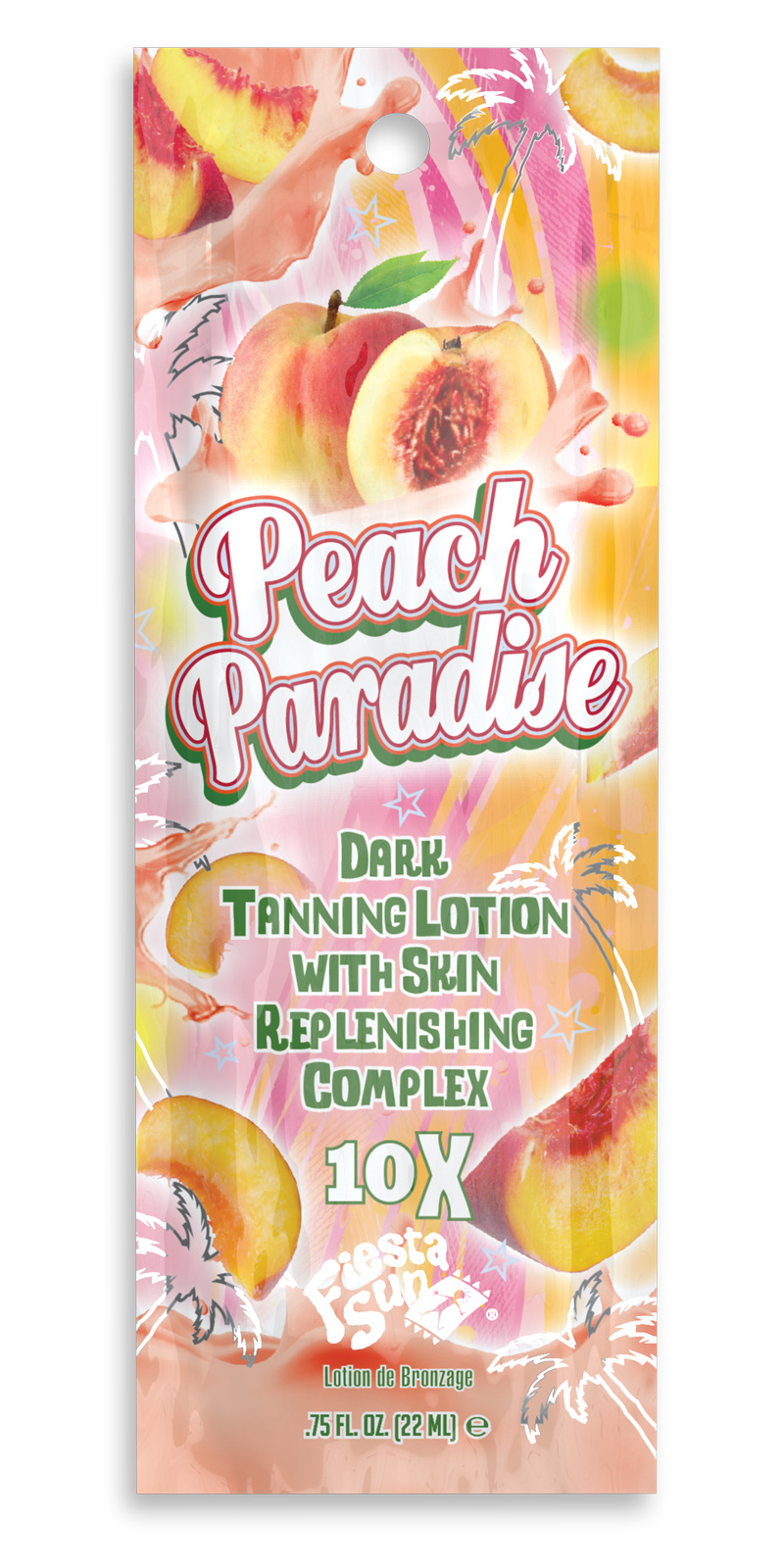 Peach Paradise™ 10X Tanning Lotion Pkt