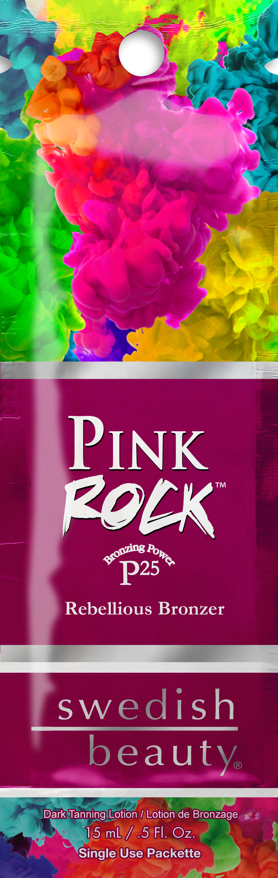 Pink Rock™ P25 Rebellious Bronzer with Wolfberry Pkt