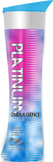 Platinum Indulgence™ Silky Silicone Tan Extending Moisturizer With Silk Extracts