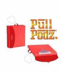 Pull Podz Keychain