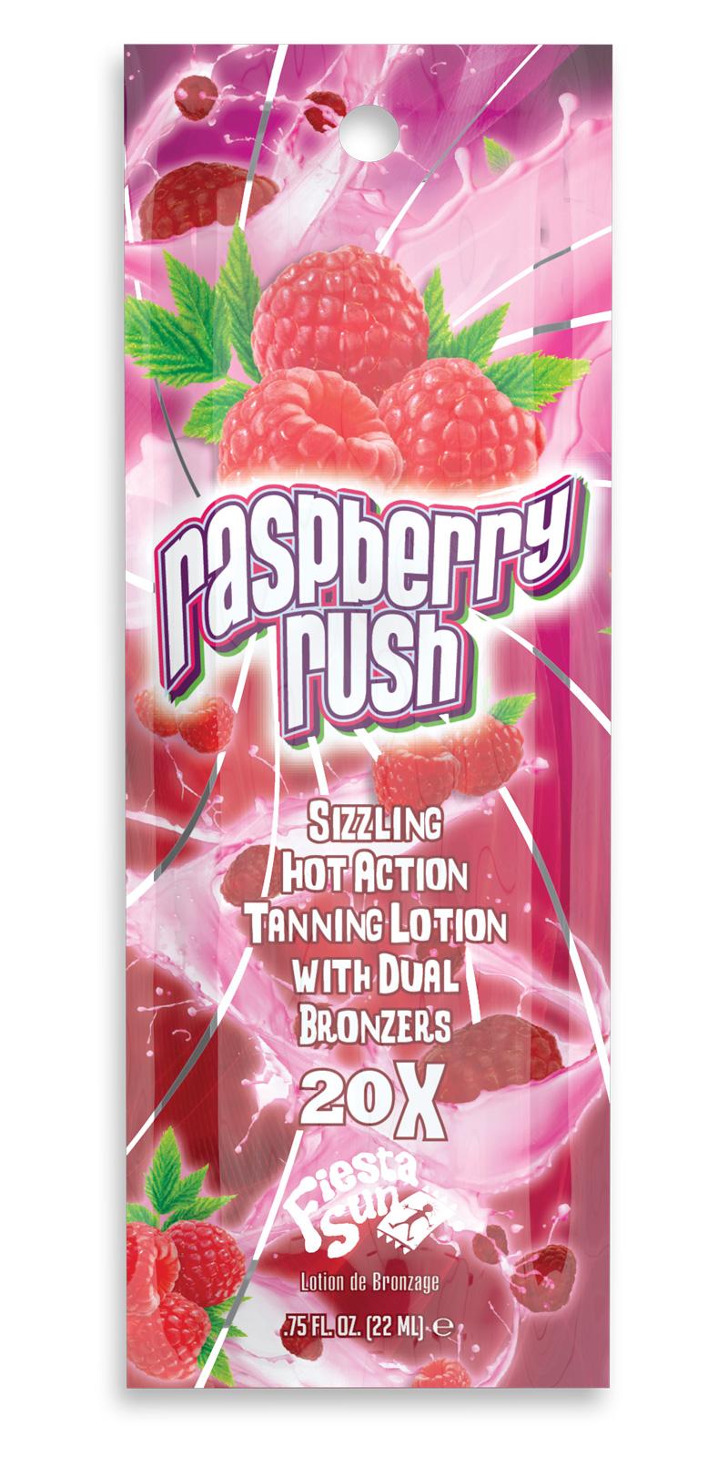 Rasberry Rush™ Sizzling Hot 20X Dual Bronzers Pkt