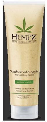 Hempz® Sandalwood & Apple Body Scrub