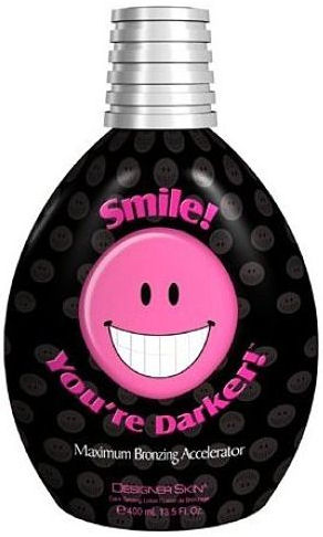 Smile! You're Darker!™ Maximum Bronzing Accelerator