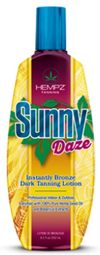 Hempz® Sunny Daze Instantly Bronze Dark Tanning Lotion