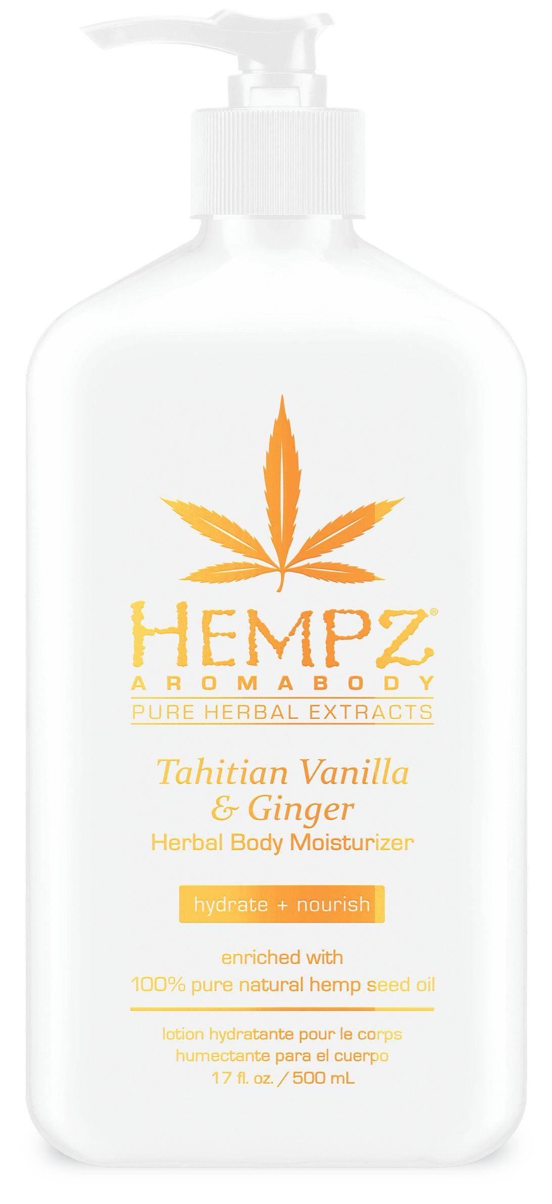Hempz® Aromabody Tahitian Vanilla & Ginger Herbal Body Moisturizer