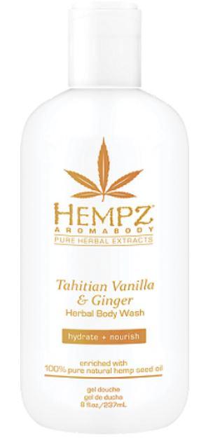 Hempz Aromabody Tahitian Vanilla & Ginger Herbal Body Wash