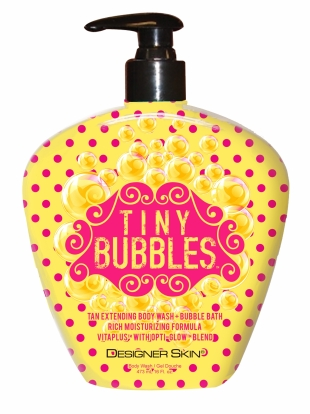 Tiny Bubbles™ Tan Extending Body Wash + Bubble Bath