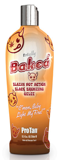 Totally Baked™ Blazing Hot Action Black Bronzing Gelee