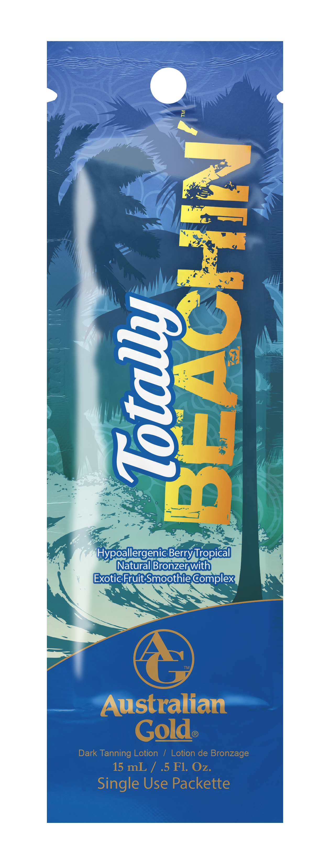 Totally Beachin'™ Hypoallergenic Berry Tropical Natural Bronzer Pkt