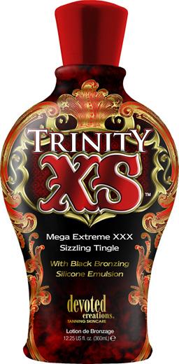 Trinity XS™ Mega Extreme XXX Sizzling Tingle With Black Bronzing Silicone Emulsion