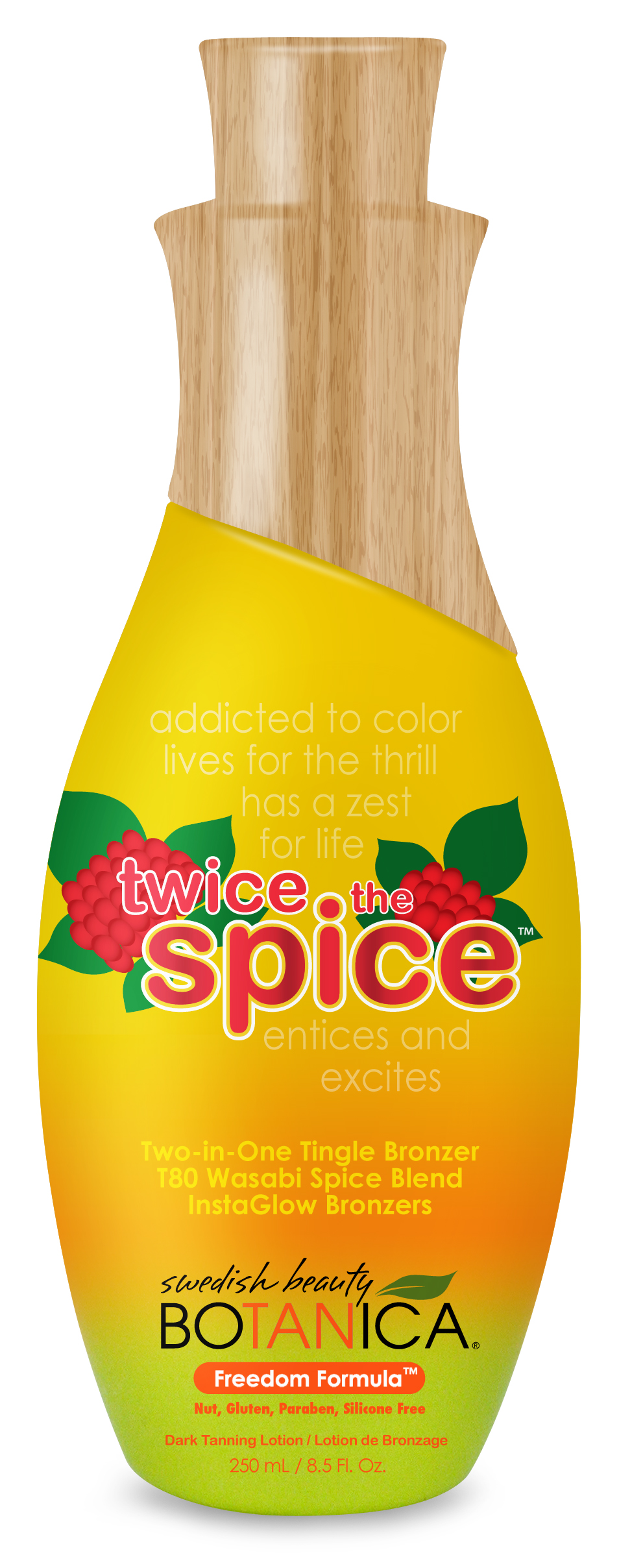 Twice the Spice™ Two-in-One Tingle Bronzer with T80 Wasabi Spice Blend