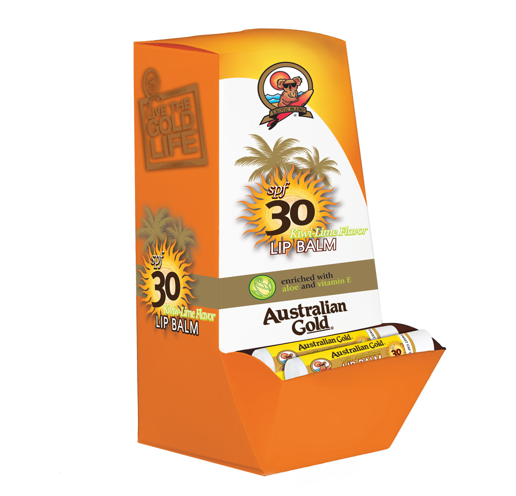 AG SPF 30 Lip Balm Display
