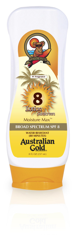 Ausltralian Gold SPF 8 Lotion (E)