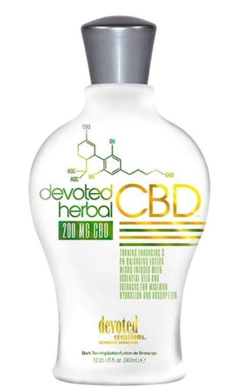 DC Herbal CBD Tanning Lotion