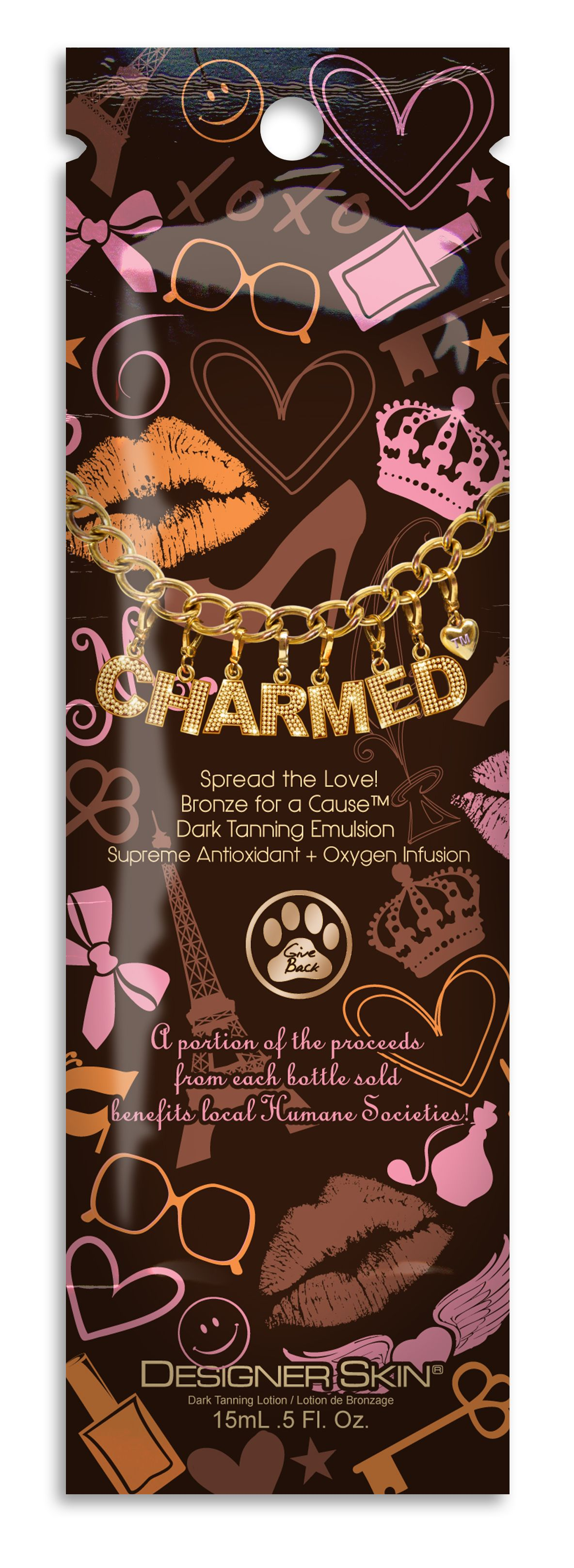 Charmed™ Bronze for a Cause™ Dark Tanning Emulsion Pkt