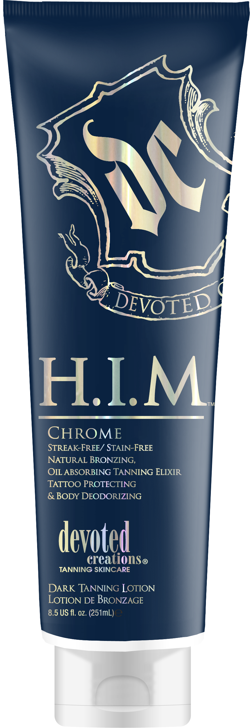 HIM Chrome Streak-Free/ Stain-Free Natural Bronzing, Oil