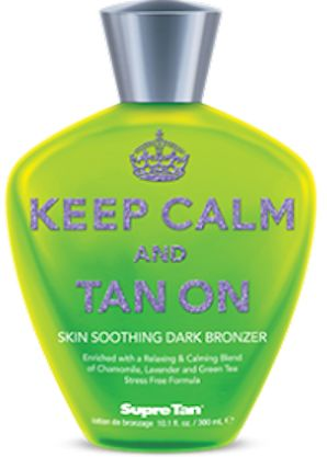 Keep Calm & Tan On™ Skin Soothing Dark Bronzer