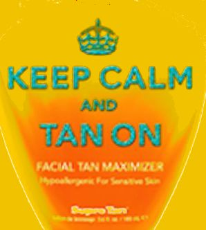 Keep Calm & Tan On™ Facial Tan Maximizer Pkt