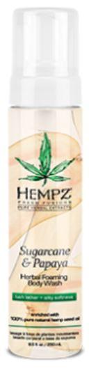 Hempz Fresh Fusions Sugarcane & Papaya Moisturizer Foaming Body Wash
