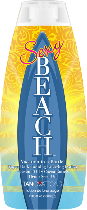 Sexy Beach™ Bronzing Lotion- Coconut Oil- Coconut Butter- Hemp Seed Oil