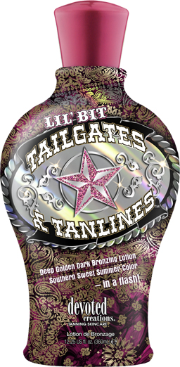 Tailgates & Tanlines™ High levels of DHA and Natural Bronzers