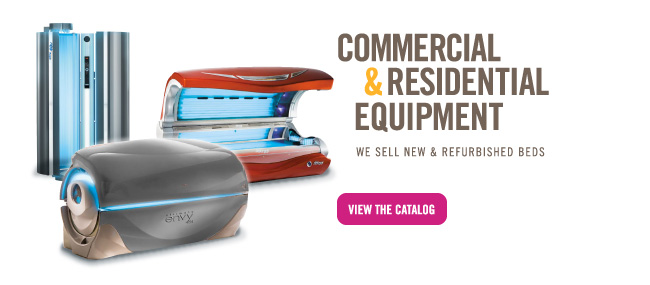 Commercial and Residential Tanning Beds and Equipment